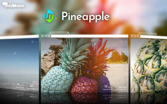 Pineapple Wallpapers New Tab