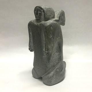 Signed Iootna Inuit Sculpture
