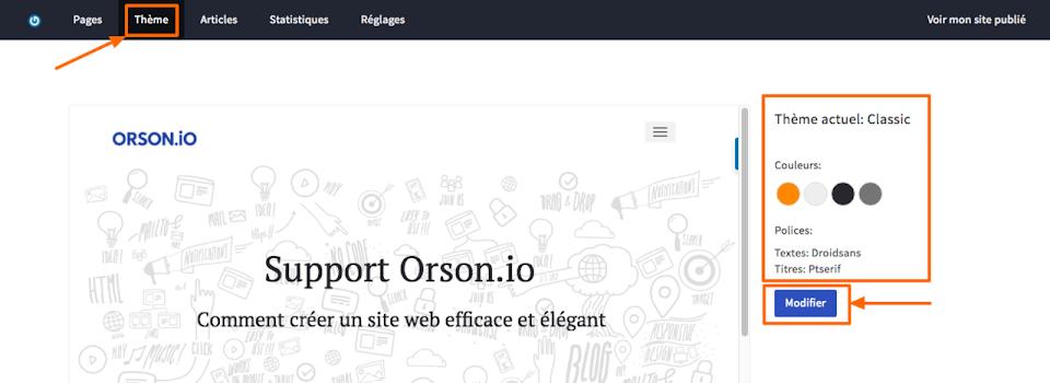 Créer le design d'un site web