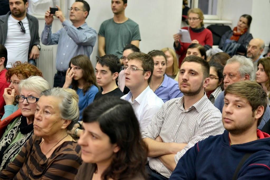 Conferinta Despre martiri cu Dan Puric, FTOUB 010