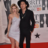 OIC - ENTSIMAGES.COM - Carl Barat at the  The BRIT Awards 2016 (BRITs) in London 24th February 2016.  Raymond Weil's  Official Watch and  Timing Partner for the BRIT Awards. Photo Mobis Photos/OIC 0203 174 1069