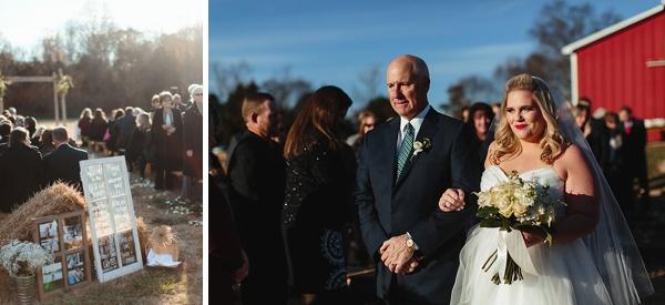 Rustic Chic Adams International School Wedding Tidewater