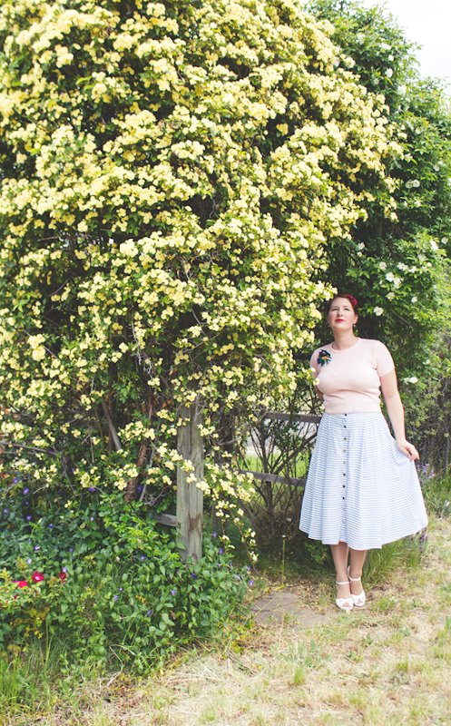 Sweet 1950's look for my 30th birthday | Lavender & Twill