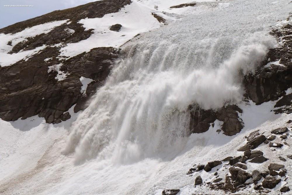 Avalanche Maurienne, secteur Roche Olvéra, RD 902 - Valloire - Photo 1 - © Duclos Alain