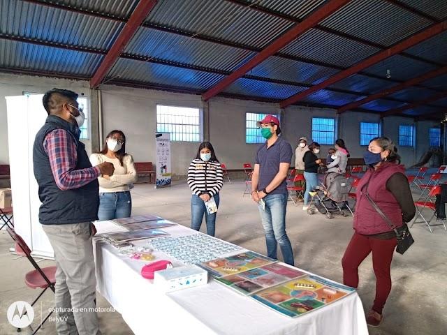 Acerca ITJ ferias educativas a jóvenes de Ixtacuixtla Tlaxco