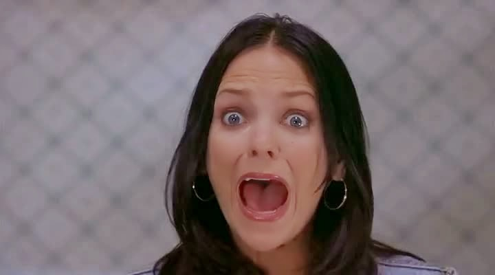 Screen Shot Of Hollywood Movie Scary Movie 2 (2001) In Hindi English Full Movie Free Download And Watch Online at Alldownloads4u.Com