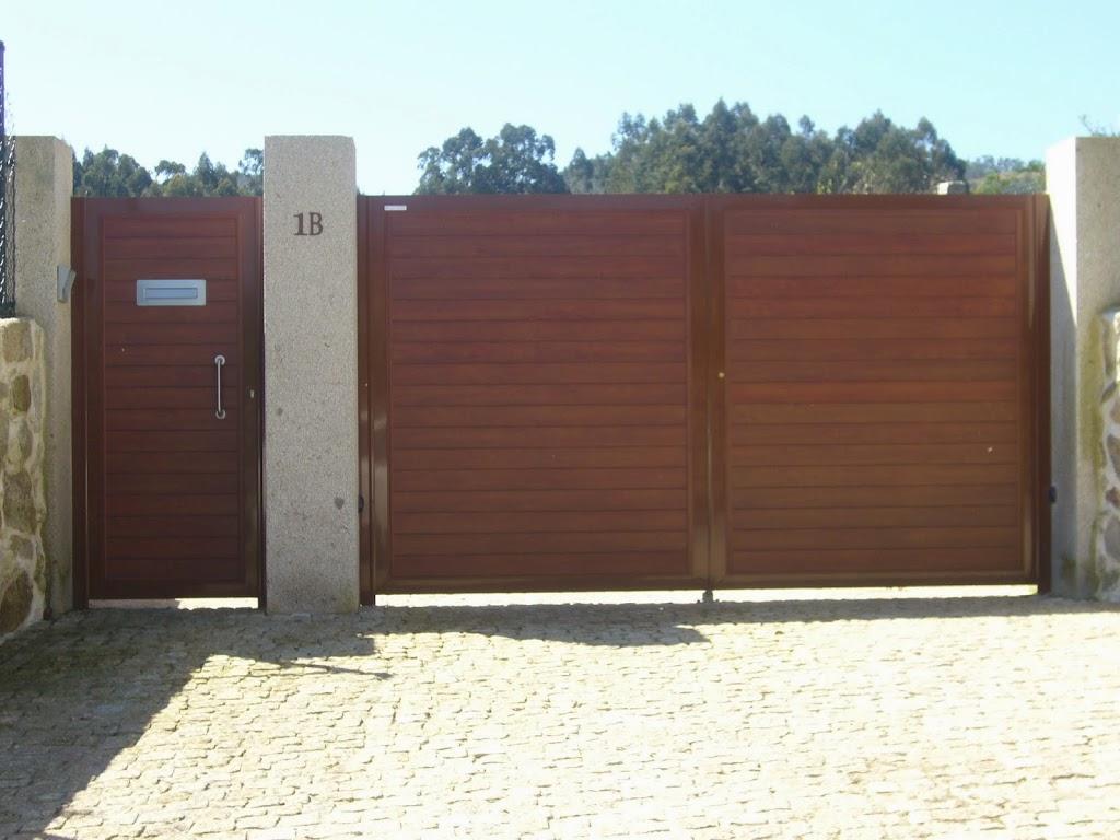 Cimagal portal en gondomar - Portales de madera ...