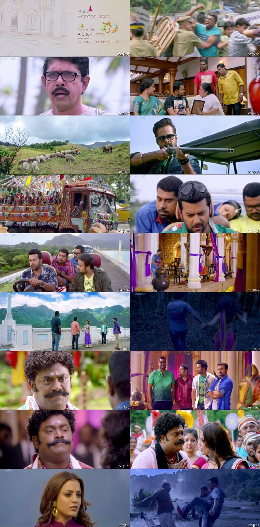 Screen Shot Of Tollywood Movie Cousins 2019 Full Movie In Hindi Dubbed Free download 720P HD