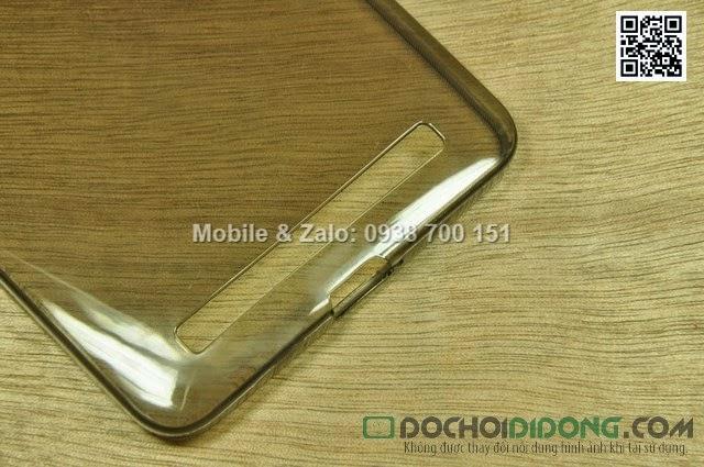Ốp lưng Asus Zenfone 6 dẻo trong siêu mỏng