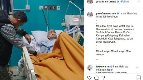 Ayah Meninggal, Yusuf Mansur Batal Diperiksa Terkait Kasus Perumahan Syariah Fiktif