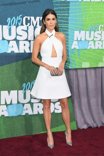 Nikki Reed attends the 2015 CMT Music awards