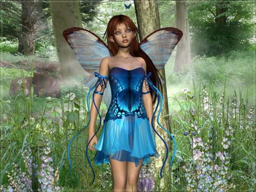 Blue Magic Fairy, Fairies Girls