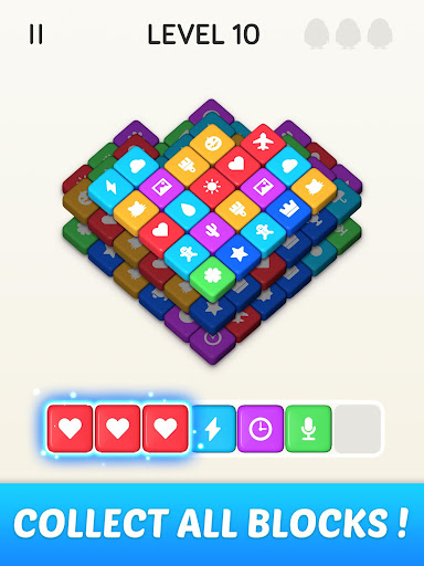 Block Blast 3D : Triple Tiles Matching Puzzle Game 3.40.009 screenshots 18