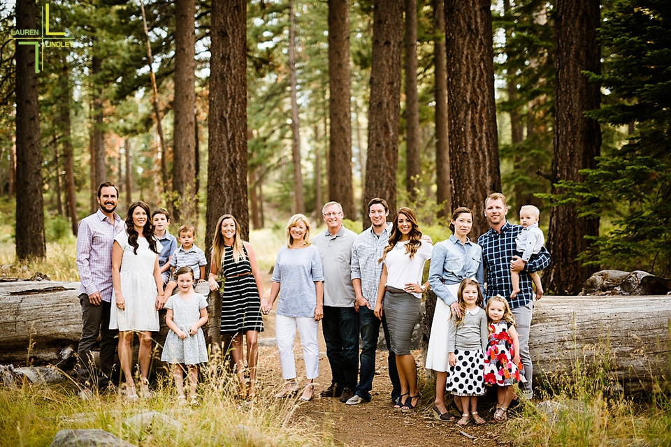 Family Photos at Lake Tahoe