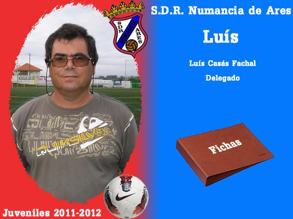 ADR Numancia de Ares. Xuvenís 2011-2012. LUIS.