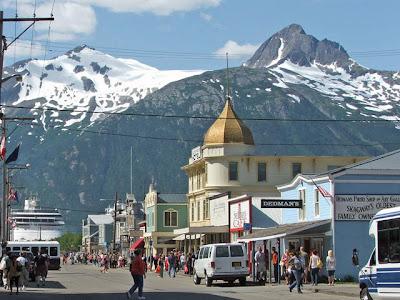 White pass scenic railway skagway alaska celebrity