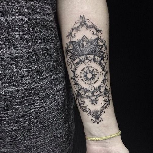 50 Best Compass Tattoo Designs And Ideas