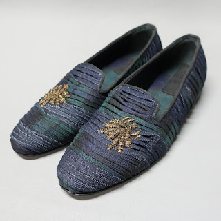 Embroidered Italian Loafers
