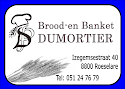 Brood en banket Dumortier