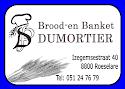 Brood en banket Dumortier