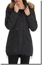 Betty Barclay Deep Navy Hooded Parka