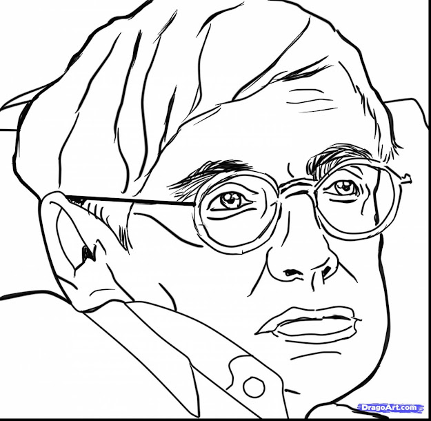 Fabulous How To Draw Stephen Hawking With Emo Coloring Pages And Emo Girl  Coloring Pages