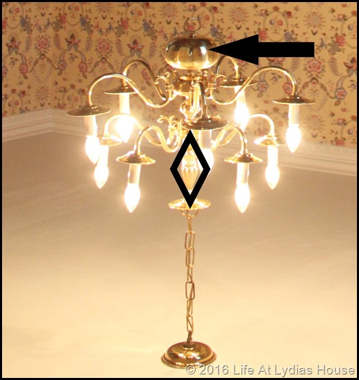 brass chandelier with arrows copy