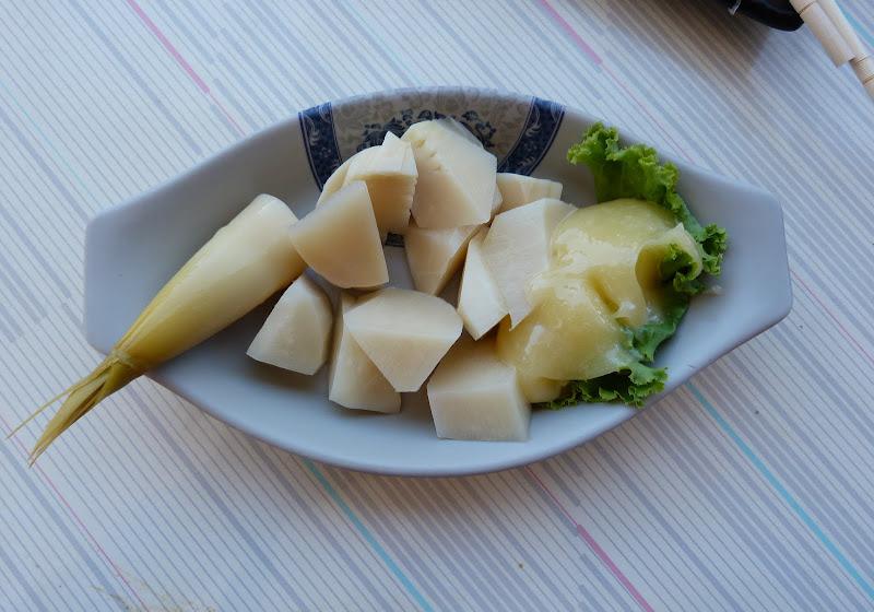 dejeuner,pousses de bambous