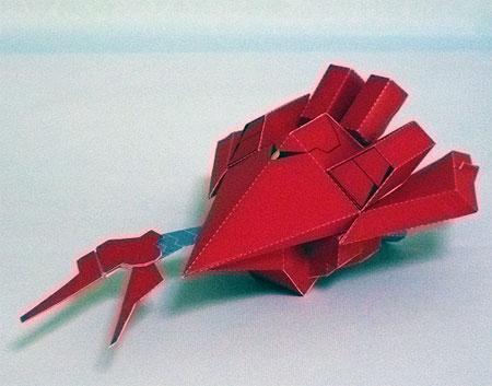 SD Val Varo Papercraft Gundam Mobile Armor