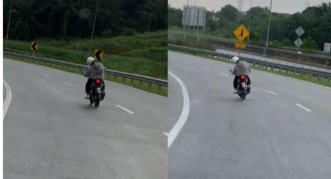 Kelakuan Kocak Pemotor saat Lampu Sein Mati Bikin Ngakak, Kode Beloknya Jadi Sorotan