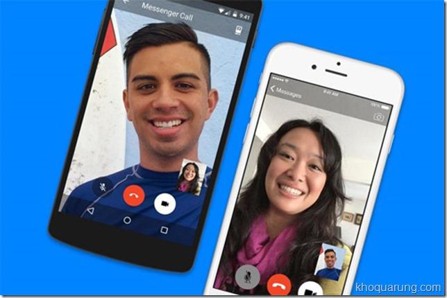 Bạn đã thử gọi gọi điện và video call miễn phí trên Facebook Messenger chưa