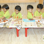 Triangle Day Celebrated by Nursery morning Section, Witty World (2017-18)