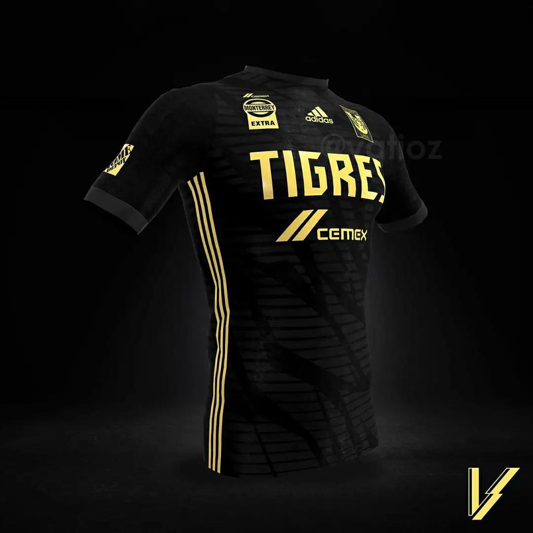 gambar Konsep Jersey Tigres Ketiga musim 2020/2021