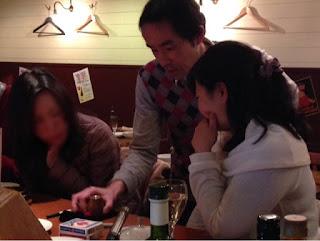 トムズキッチン 千石店でレストランマジック / マジシャンひろしつちや