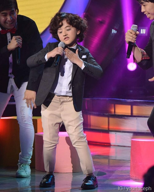 YFSF - Alonzo Muhlach as Harry Styles