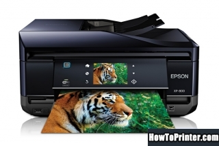 Reset Epson XP-800 Waste Ink Counter overflow error