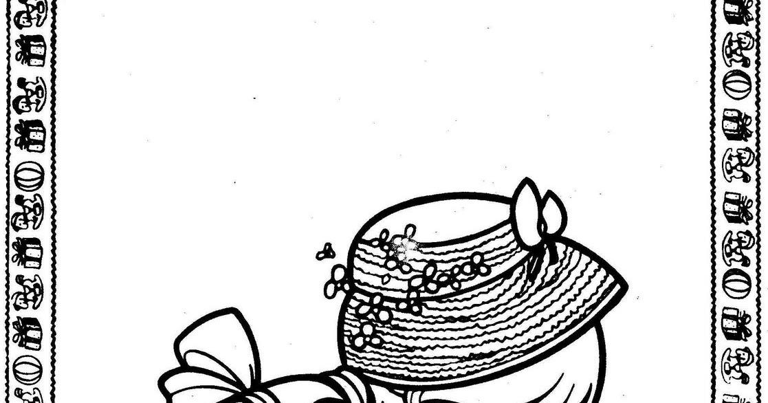 為孩子們的著色頁: Girl watering a plant