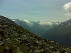 Blick auf die Stubaier Gletscherwelt