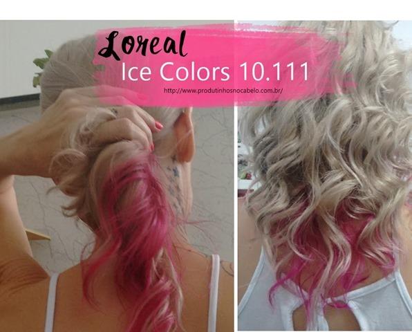 Diferença das tinturas Ice Colors