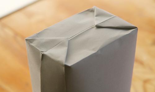 presentpåse av kuvert