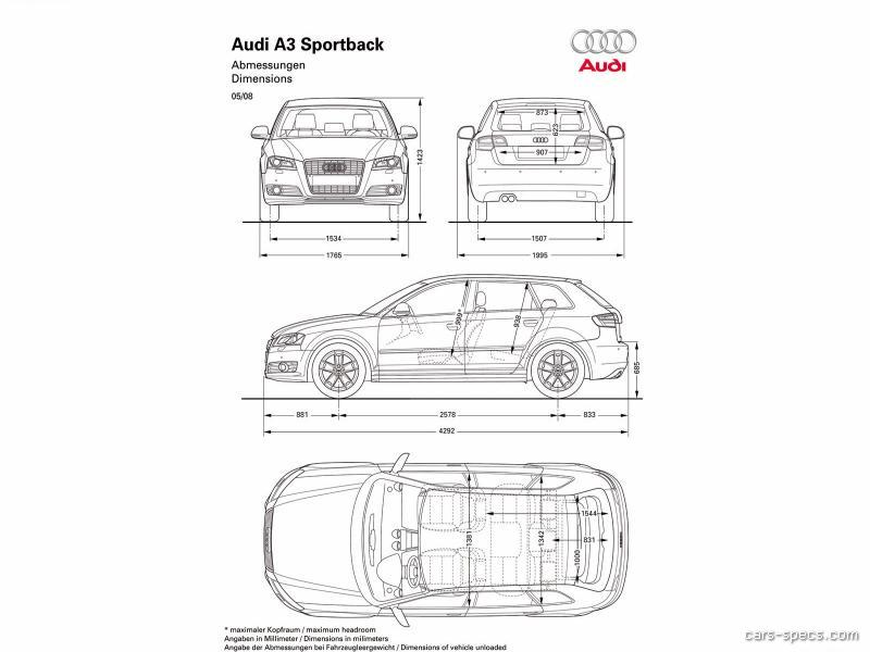 2009 audi a3 wagon specifications pictures prices. Black Bedroom Furniture Sets. Home Design Ideas
