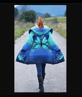 Crochet Pattern Bolero - náhled