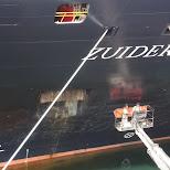 Zuiderdam cruise ship in Vancouver, British Columbia, Canada