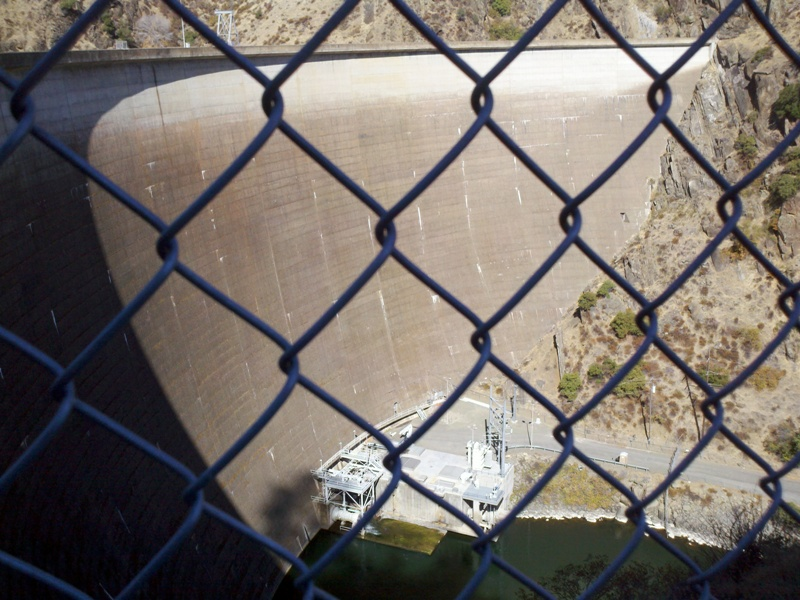 Foxy's Fall Century • Monticello Dam and Putah Creek