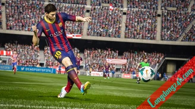 FIFA 15 hình ảnh chân thực đáng kinh ngạc của cầu thủ