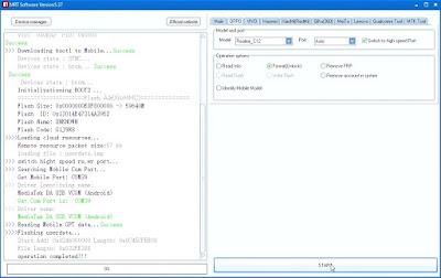 Realme C12 (RMX2189) Unlock in MRT Software V5.37