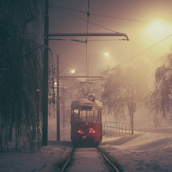 Sarajevo: The Lonely Tram. by inbrainstorm1