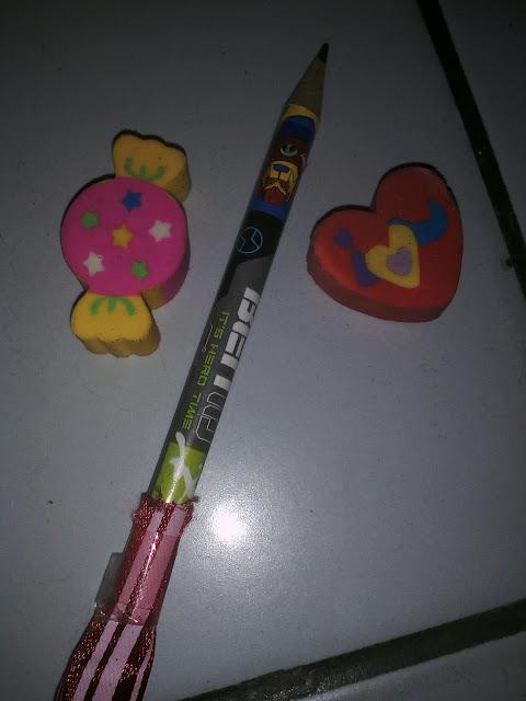 Pemadam dan pensil