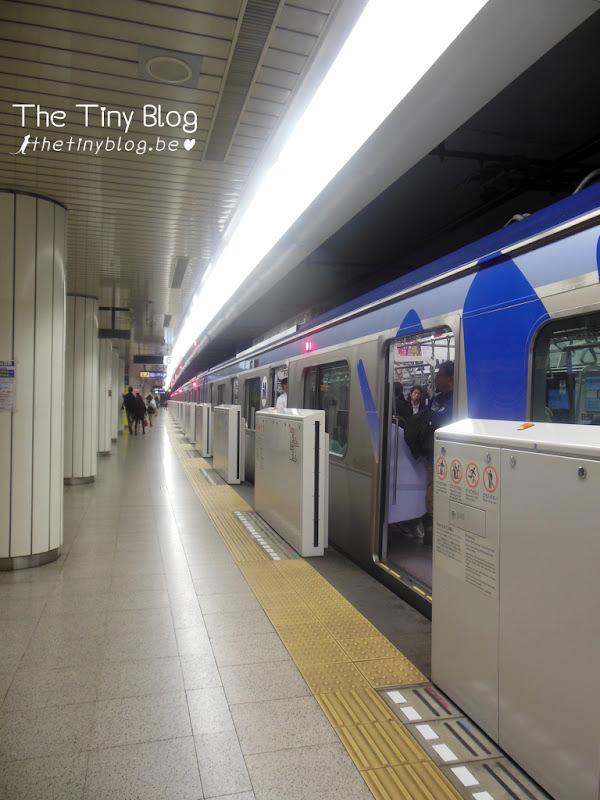 Tokyo JR Railway Security Doors