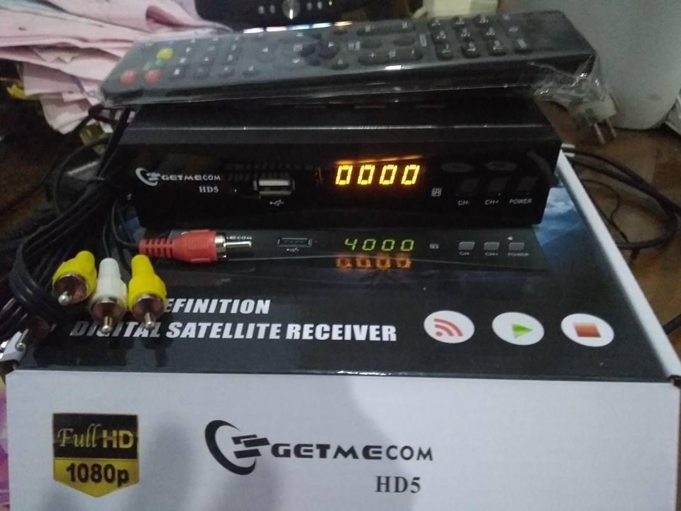 dijual receiver getmecom hd5